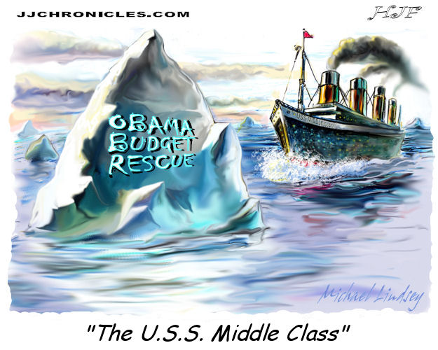 Obama's Rescue Plan Aimed At Sinking The Middle Class